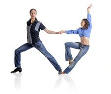 Free Dancing Couple Stock Image - 34870511