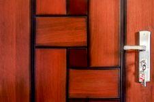 Free Abstract Unique Wooden Pattern Door Stock Image - 34871851