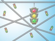 Free Traffic Light Stock Photos - 34872403
