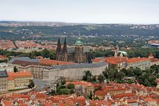 The Prague Castle Royalty Free Stock Image