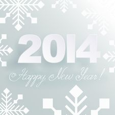 Free Happy New Year Light Background Stock Photography - 34882512