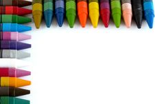 Free Colorful Crayons Stock Photos - 34882663
