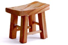 Free Wooden Stool Royalty Free Stock Photography - 34882767