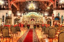 Free Russian Orthodox Cathedral Stock Photography - 34883812