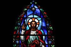 Free Stained Glass Window Royalty Free Stock Images - 34888789