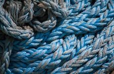 Free Marine Ropes Background Royalty Free Stock Photos - 34889378