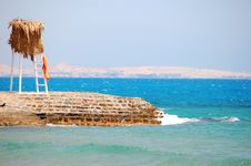 The Beach On The Red Sea Royalty Free Stock Photography