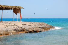 The Beach On The Red Sea Royalty Free Stock Images