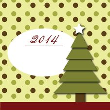 Free New Year 2014 Post Card Stock Image - 34892531