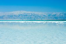 Free Beautiful Coast Of The Dead Sea Royalty Free Stock Photos - 34895358