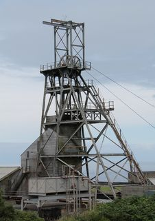 Free Mine Headstocks. Royalty Free Stock Photo - 34895565
