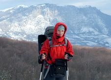 Free Hiker Royalty Free Stock Photos - 34896598