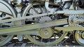 Free Train Engine Wheels Stock Photography - 3491012