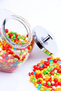 Free Open Jar Of Candy Stock Photos - 3491473