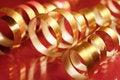 Free Golden Ribbons Royalty Free Stock Photo - 3495425