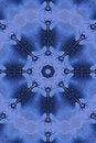 Free Blue Snowflake Grunge Stock Image - 3498301