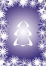 Free Vector Christmas Tree Royalty Free Stock Images - 3499729