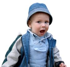 Free Surprised Boy Isolated Royalty Free Stock Images - 3491329