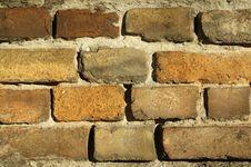Free Brick Wall Royalty Free Stock Photo - 3491465
