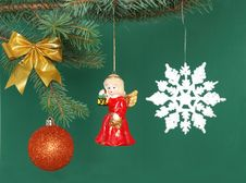 Free Christmas Decorations Royalty Free Stock Images - 3491599