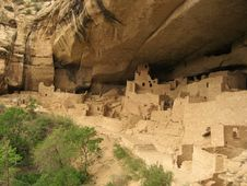 Free Cliff Palace Royalty Free Stock Image - 3491986
