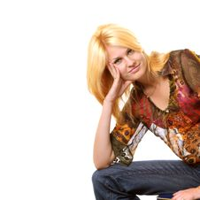 Free Blond Girl Royalty Free Stock Photo - 3492255