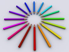 Pencil 3 Stock Images
