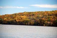 Free Fall Color On The River Royalty Free Stock Image - 3493046