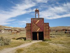 Free Firehouse (Bodie Ghost Town) Stock Photo - 3493060
