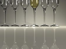 Free Champagne Glasses Stock Photos - 3493103