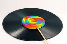 Free Vintage Vinyl Record Stock Photography - 3493232