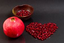 Free Pomegranate Seeds Stock Photos - 3493513