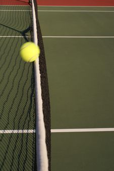 Free Tennis Ball Hitting Net Stock Photo - 3493540