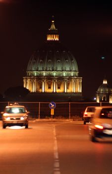 Free St. Peter S Dome / Urban View Stock Photo - 3494150