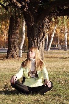 Free Autumn Portrait Stock Images - 3494414