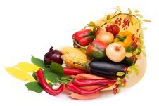 Free Colorful Vegetables Royalty Free Stock Photo - 3495165