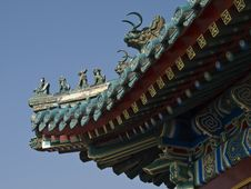 Free Chinese Roof Royalty Free Stock Images - 3495169