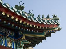 Free Chinese Roof Royalty Free Stock Image - 3495186