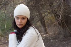 Free Winter Girl Stock Images - 3495324