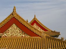 Free Chinese Roof Stock Photography - 3495432