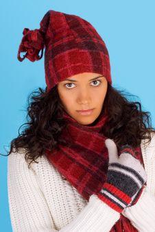 Free Winter Girl Stock Photos - 3495553