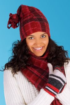 Free Winter Girl Stock Photography - 3495562
