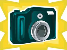 Free Still Camera With Zooming Lens Stock Images - 3495674