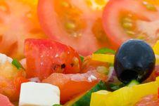 Free Greek Salad Stock Photography - 3496012
