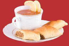 Ukrainian Soup Stock Images