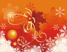 Free Winter Holiday Background Stock Photo - 3496750