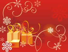 Free Winter Holiday Background Royalty Free Stock Photo - 3496885