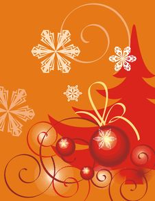 Free Winter Holiday Background Royalty Free Stock Images - 3497039