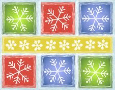Free Rustic Snowflake Background Royalty Free Stock Photos - 3497318
