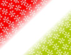 Free Snowflake Corner Backgrounds Stock Photo - 3497330